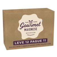 Oferta Maionese Gourmet Tradicional 500g | 12 unidades - Cod. C15451