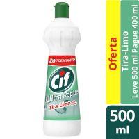 Oferta Limpador Cif Tira-Limo com Cloro Esqueeze 500ml   12 unidades - Cod. C15458