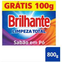 Oferta Lava Roupas Sanitizante em Pó Brilhante Limpeza Total 800g | 20 unidades - Cod. C15464