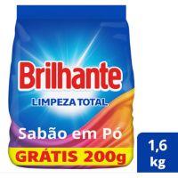 Oferta Lava Roupas Sanitizante em Pó Brilhante Limpeza Total 1,6kg | 7 unidades - Cod. C15465
