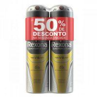 Oferta Desodorante Aerosol Rexona Masculino V8 2 x 150ml | 6 unidades - Cod. C15475