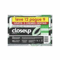 Oferta Creme Dental Close Up Triple Menta 70g | 6 unidade - Cod. C15489