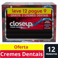 Oferta Creme Dental Close Up Red Hot 90g | 6 Unidades - Cod. C15491