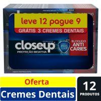 Oferta Creme Dental Close Up Proteção Bioativa Bloqueio Anticáries 70g | 6 Unidades - Cod. C15493