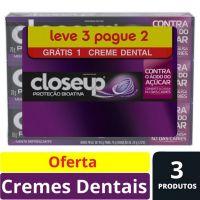 Oferta Creme Dental Close Up Proteção Bioativa 70g | 24 Unidades - Cod. C15495
