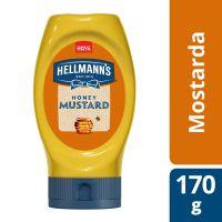 Mostarda Hellmann's Adoçada com Mel Squeeze 170g - Cod. C15535