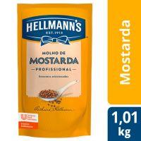 Mostarda Hellmanns Doypack 1,01kg | 1 unidade - Cod. C15536