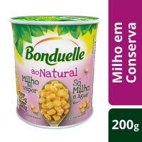 Milho em Conserva Bonduelle Ao Natural 200g | 6 unidades - Cod. C15597