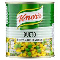 Milho e Ervilha Knorr em Conserva Dueto 170g | 6 unidades - Cod. C15599