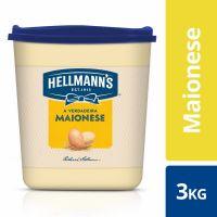 Maionese Hellmann's Tradicional Balde 3kg | 1 unidades - Cod. C15620