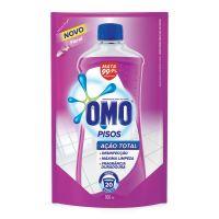 Limpador de Piso Desinfetante Omo Floral Refil 900ml   6 unidades - Cod. C15694
