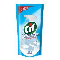 Limpador CIF Ultra Rápido Banheiro sem Cloro Refil 450ml | 3 unidades - Cod. C15716