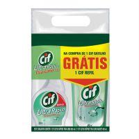 Limpador Cif Tira Limo Gatilho 500ml + Refil 450ml - Cod. C15718
