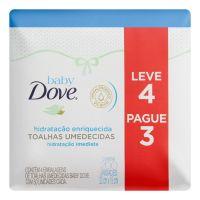 Lenço Umedecidos Baby Dove Hidratação Enriquecida 200 lenços - Cod. C15736