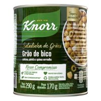 Grão-de-Bico em Conserva Knorr Saladinha de Grãos 170g | 6 unidades - Cod. C15806