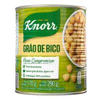 Grão de Bico em Conserva Knorr Tradicional 170g | 6 unidades - Cod. C15807