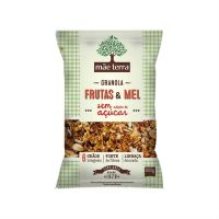 Granola Mãe Terra Frutas & Mel sem Açúcar 800g | 6 unidades - Cod. C15819