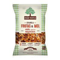 Granola Mãe Terra Frutas & Mel sem Açúcar 250g | 7 unidades - Cod. C15820