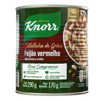 Feijão Vermelho em Conserva Knorr Zero Sódio Saladinha de Grãos 170g | 3 unidades - Cod. C15836