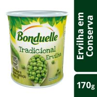 Ervilha em Conserva Bonduelle Tradicional 170g | 6 unidades - Cod. C15857