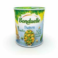 Ervilha e Milho Bonduelle Suave 200g | 6 unidades - Cod. C15859