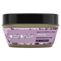 Desodorante Creme Love, Beauty And Planet Óleo de Argan & Lavanda 50g - Cod. C15924