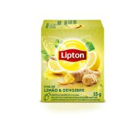 Chá Lipton Limão e Gengibre 15g | 3 unidades - Cod. C16201