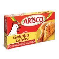 Caldo Arisco Galinha Caipira 57g |10 unidades - Cod. C16225