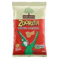 Biscoito Orgânico Mãe Terra Zooreta Pizza 20g | 7 unidades - Cod. C16239