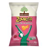 Biscoito Orgânico Mãe Terra Zooreta Morango 20g | 7 unidades - Cod. C16240