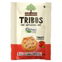 Biscoito Orgânico Mãe Terra Tribos Tomate 50g | 6 unidades - Cod. C16244