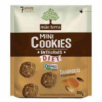 Biscoito Orgânico Mãe Terra Tribos Diet Damasco e Castanhas 120g | 6 unidades - Cod. C16250