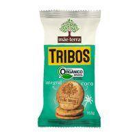 Biscoito Orgânico Mãe Terra Tribos Coco 16,5g | 20 unidades - Cod. C16254