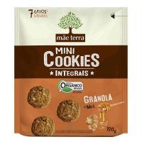 Biscoito Orgânico Mãe Terra Granola e Mel 120g | 6 unidades - Cod. C16265