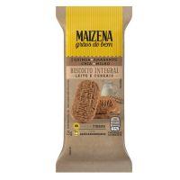 Biscoito Integral Maizena Grãos do Bem Leite e Cereais 25g |12 unidades - Cod. C16267