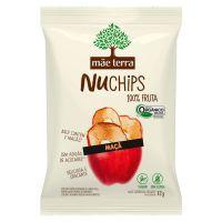 Chips Orgânico Mãe Terra Maçã NuChips 32g - Cod. C16280