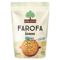 Farofa Orgânica Mãe Terra Banana 200g - Cod. C16285