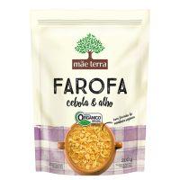 Farofa Orgânica Mãe Terra Cebola e Alho 200g - Cod. C16286