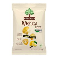 Pipoca Orgânica Mãe Terra Lemon Pepper NuPoca 23g - Cod. C16298