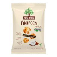 Pipoca Orgânica Mãe Terra Mascavo com Coco NuPoca 40g - Cod. C16299