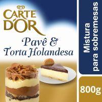 Sobremesa Carte D'Or Pavê e Torta Holandesa 800g - Cod. C16303