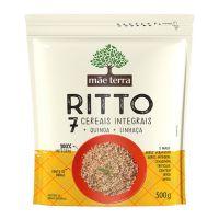 Arroz Mãe Terra Ritto 7 Cereais Integrais 500g | 4 unidades - Cod. C16374