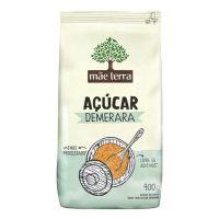 Açúcar Demerara Mãe Terra 400g | 6 unidades - Cod. C16384