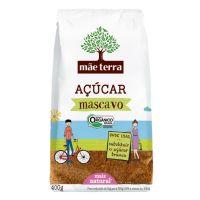Açúcar Mascavo Orgânico Mãe Terra 400g | 6 unidades - Cod. C16385