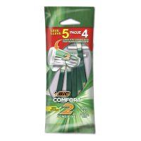 Aparelho de Barbear BIC Comfort 2 Pele Sensível Leve 5 Pague 4 - Cod. 70330721838