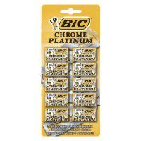 Lâmina Duplo Fio BIC Chrome Platinum c/ 50 unidades - Cod. 70330710221