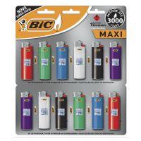 Isqueiro BIC Maxi com 12 unidades - Cod. 70330631335