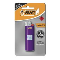 Isqueiro BIC Maxi com 1 unidade - Cod. 70330609723