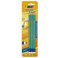 Lápis Preto BIC Evolution com corpo verde Hexagonal e Grafite HB#2 - Cod. 70330415447