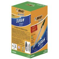 Caneta Esferográfica BIC Cristal Dura+ verde com 50 un. - Cod. 70330129641